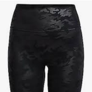 Spanx Black Camo Bike Shorts